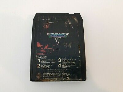 Van Halen 8 Track Tape Self Titled Runnin With The Devil Jamie's Cryin Tested
