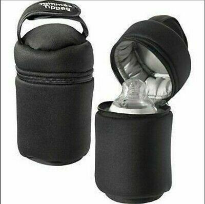 Tommee Tippee Baby Bottle Travel Warmer Insulated Bag Closer to Nature