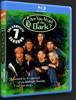 ARE YOU AFRAID OF THE DARK BLU-RAY COMPLETE  -All 7 Seasons, 91 Episodes!