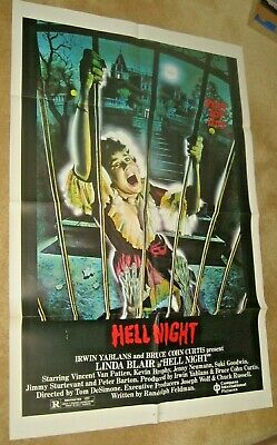 HELL NIGHT '81  Linda Blair horror !  Great graphics and condition