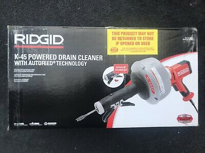 RIDGID 35473 K-45AF Sink Drain Cleaning Machine With Autofeed Technology