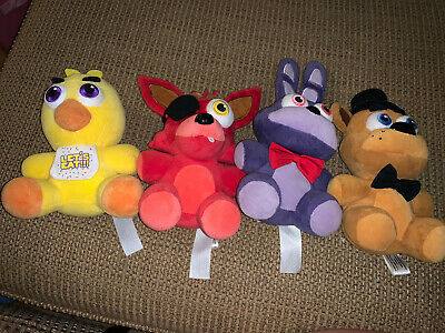 4.  Five Nights Of Freddys Plushies