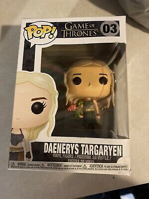 funko pop game of thrones daenerys W/ Green Dragon