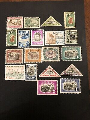 Old Liberia MNH/Used Africa Stamps- Lot A-66398