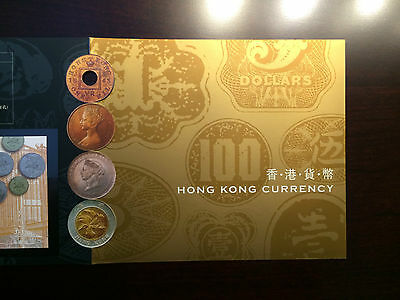 Hong Kong Stamps 2004 Currency Thematic Booklet set (strbx1)