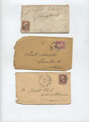 Group of 3 #65 covers to Maine [y5027]