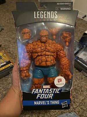 """Marvel Legends  Fantastic Four The Thing  6"""" Action Figure Walgreens Exclusive"""