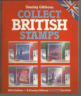 Collect British Stamps Checklist (40Th Edition -1988)