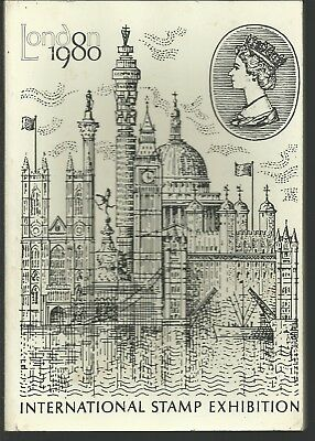 London 1980: International Stamp Exhibition Paperback Book
