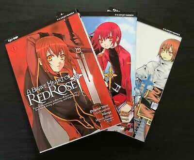 A Brave Heart of RED ROSE - Serie Completa 1/3 - Ed. J-POP - Usato