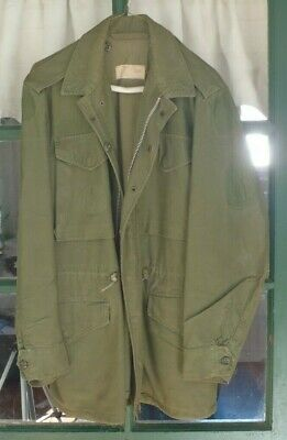 Vintage US Army M-1951 Field Jacket size regular small