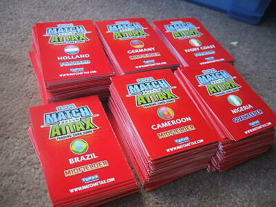 Topps Match Attax World Cup 2010 Trading Cards 550+ Cards Inc Man Of The Match