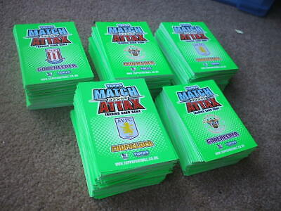 Topps Match Attax Premier League 2010-2011 Trading Cards 520+ Cards