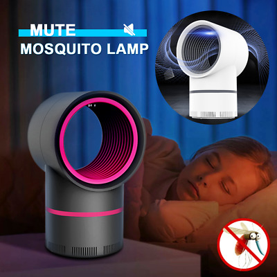 Electric Mosquito Killer Lamp Fly Insect Bug Pest Zapper Catcher UV LED Lamp New