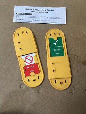 lock out tag out Tags for safety