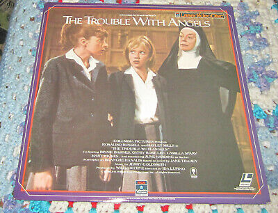The Trouble With Angels Laserdisc LD