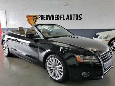 2010 Audi A5 2.0T Cabriolet LOW MILES!! CLEAN HISTORY!! AUDI A5 2.0T CABRIOLET!! HTD STS!! 18