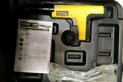 Dewalt Semi-Automatic Powder Actuated Fastening Tool - P3500