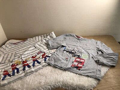 cath kidston boys long sleeved t shirt top 5 6 y  London Solider 4-5 5-6 yrs