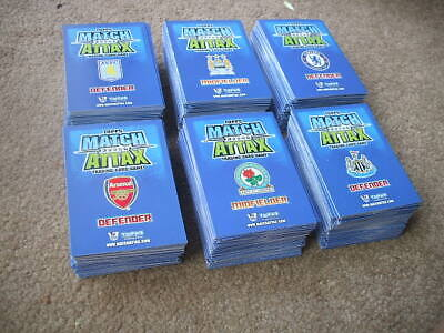 Topps Match Attax Premier League 2008-2009 Trading Cards 600+ Cards