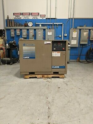 Used CompAir LeROI 25 HP Rotary Screw Air Compressor 460 Volt