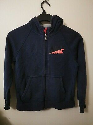 Girls Blue Nike Zip Up Hoodie Age 10-12