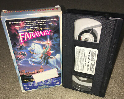 Vhs The Land Of Faraway 1987