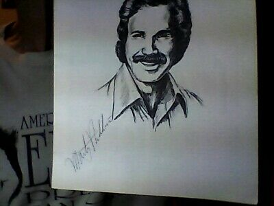 "Marty Robbins Autographed 1970'S 32 Page Tour Book 8.5"" X 11"" Very Good"