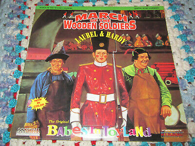 March of the Wooden Soldiers Laserdisc LD Laurel & Hardy