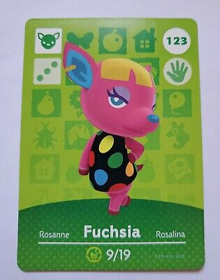 FUCHSIA - UNSCANNED - Animal Crossing Amiibo Cards Series 2