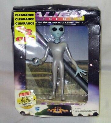 ALIEN Lifeform with Panoramic Display 1995 New In Box Handpainted Shadowbox