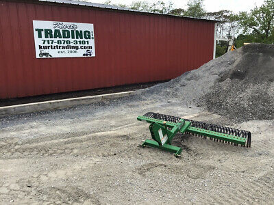 """2014 Frontier 72"""" 3Pt Rock Rake Attachment For Compact Tractors!!"""