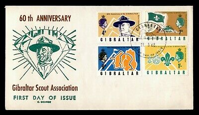 Dr Who 1968 Gibraltar Boy Scouts 60 Years Fdc C182296