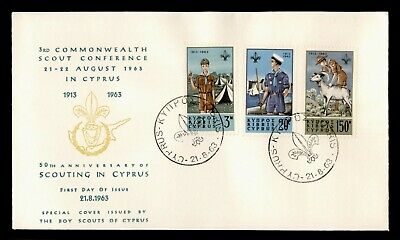 Dr Who 1963 Cyprus Boy Scouts Conference Fdc C182329