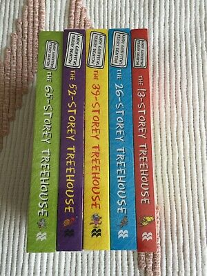 THE TREEHOUSE COLLECTION Set Of 5 Storey Stories By Andy Griffiths BNWT