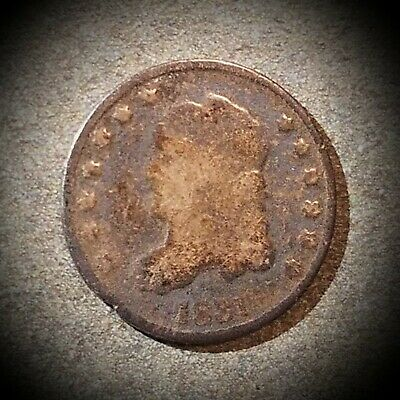1831 Half Dime Capped Bust