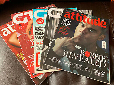 SELECTION Of Gay Times & Attitude Magazines
