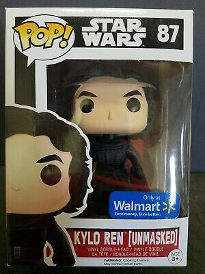 Funko Pop! Star Wars #87 - KYLO REN (UNMASKED) - Walmart Exclusive