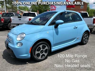 2017 Fiat 500e Hatch FIAT 500e Blue with 19,915 Miles, for sale!