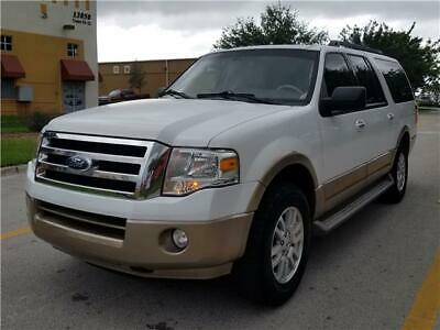 2012 Ford Expedition XLT 2012 Ford Expedition EL XLT 97,283 Miles White 4d SUV RWD  Auto