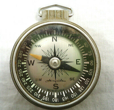 Vintage AIRGUIDE Compass USA