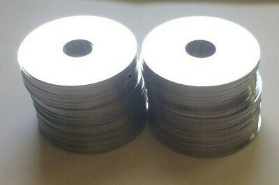 Lot of 50 hard drive hdd platters for scrap, art or platinum recovery