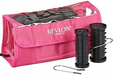"Revlon ""Perfect Heat"" Curls-to-Go 10 Piece, Travel Hot Rollers Set-RVHS6603"