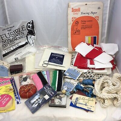Sewing Supplies Notions Lot