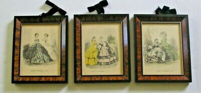 Godey,S Fashions 1852, 1853,1855  Framed Free Shipping