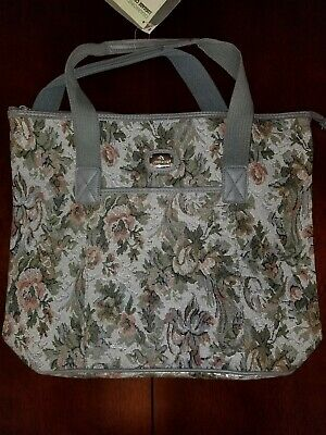Luggage Bag floral design by Jordache for carry-on