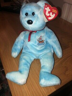 Ty Beanie Babies 'Pinta' Collectible Retired Bear 2004