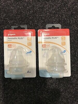Pigeon Soft Touch Nipples 2 Pack X 2!