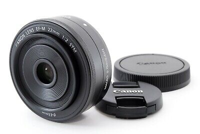 Canon EF-M 22mm F/2 STM AF Prime Lens For Canon EOS M Near Mint+ Tested #5419