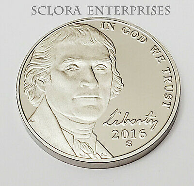 2016 S Jefferson *Proof* Nickel  **Free Shipping**
